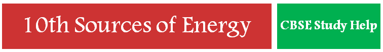Sources of energy solved question for board exam by jsuniltutorial